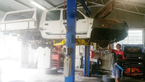 Hilux serviceing